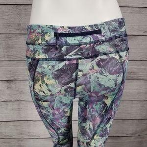lululemon athletica Pants - Lululemon 4 Run Inspire Crop II Iridescent Multi
